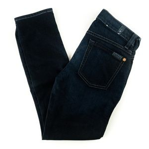 7 For All Mankind Jeans The Slim Cigarette Crop 23